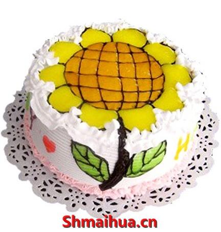 向日葵蛋糕