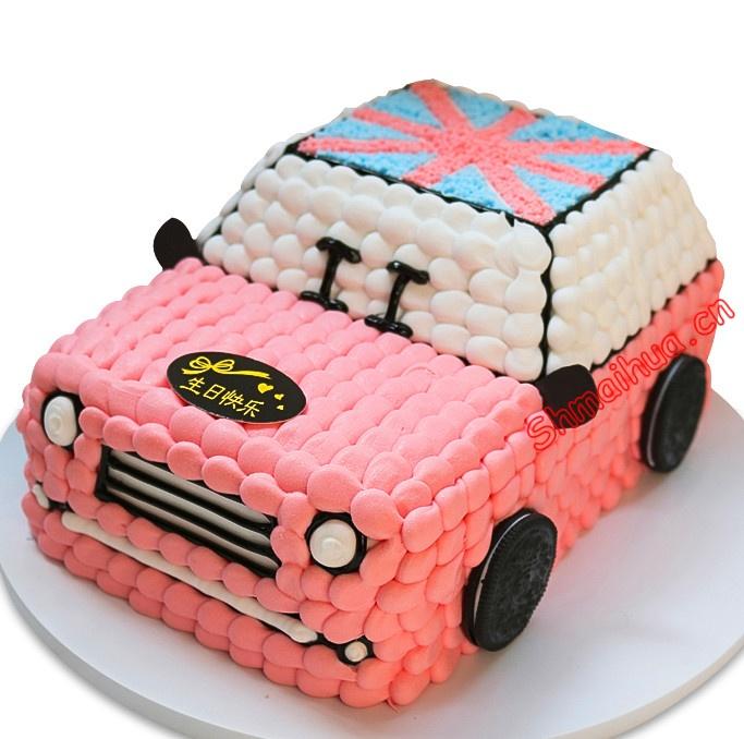 """创意汽车蛋糕"""""""